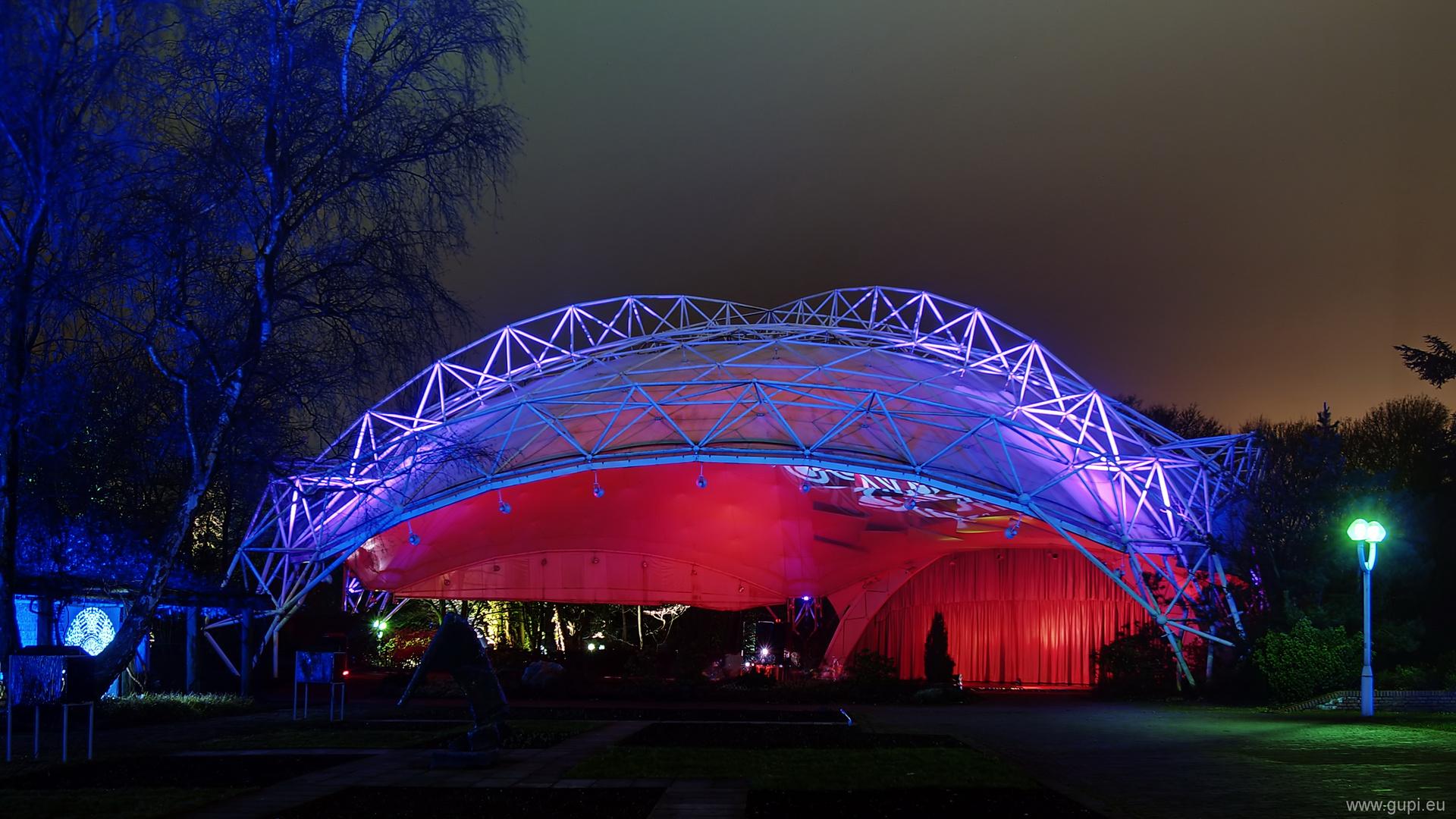 Parkleuchten 2011 - Pavillon