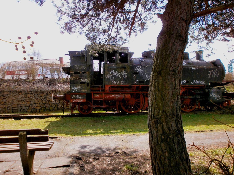 Parkplatz für Eisenbahn