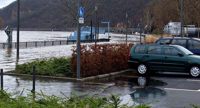 Parkplatz für Mutige