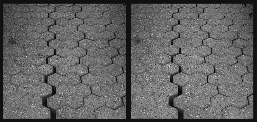 Parkplatz-Geologie