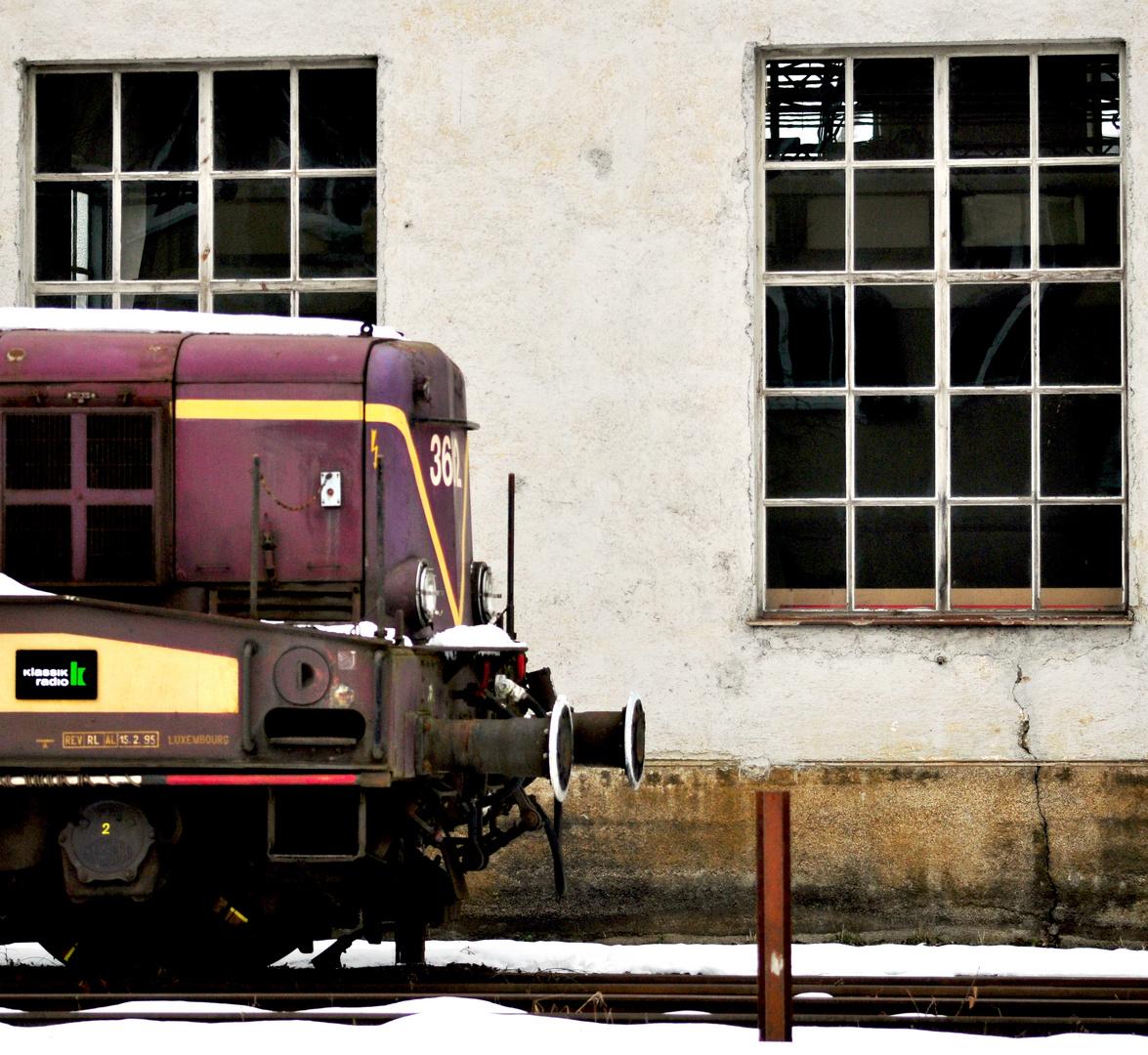 Parkplatz im Bahnpark Augsburg