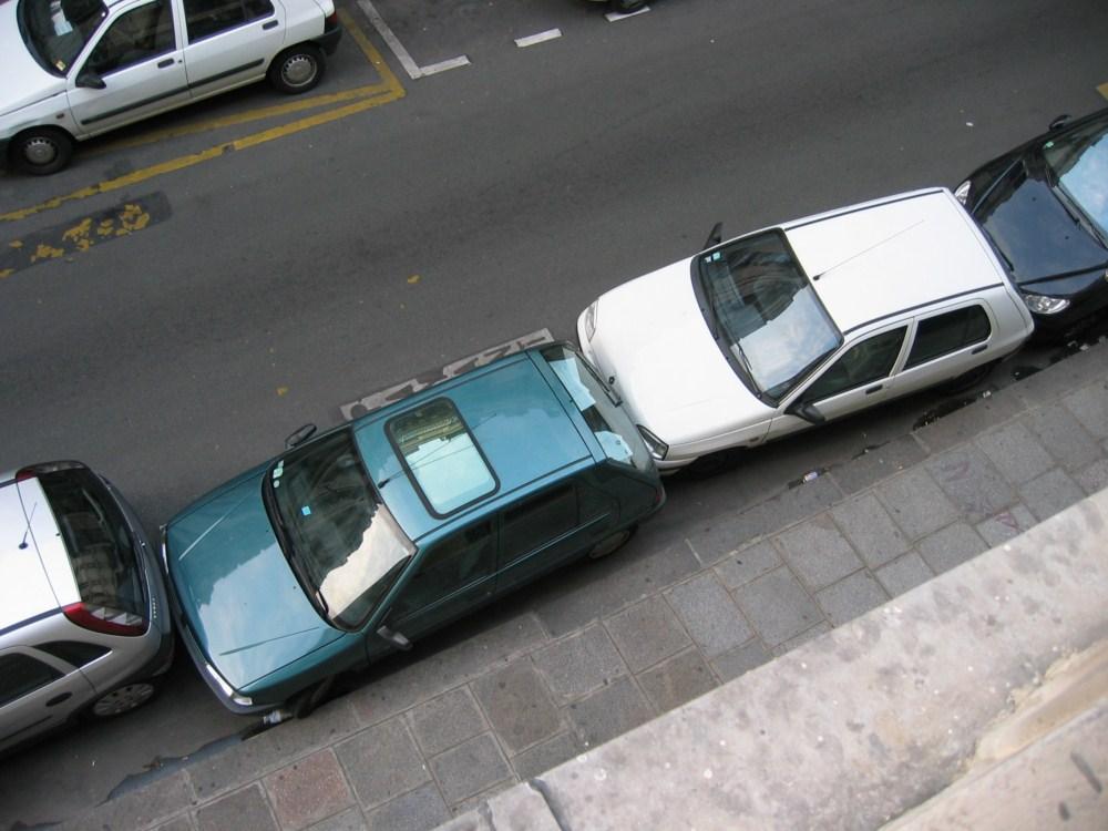 Parkplatz sparen