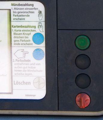 Parkplatzbenutzungsberechtigungsscheinausgabegerät II