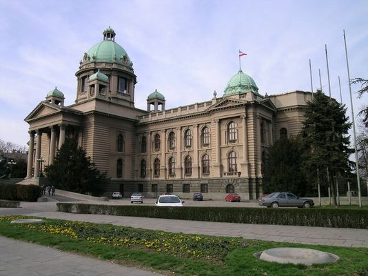 Parlament in Belgrad