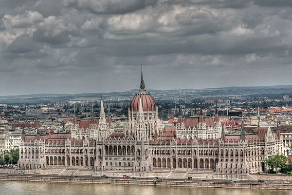 Parlament in HDR