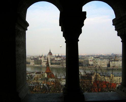 Parlamentsgebäude aus anderem Blickwinkel
