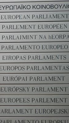 Parlement européen - parlons europeen