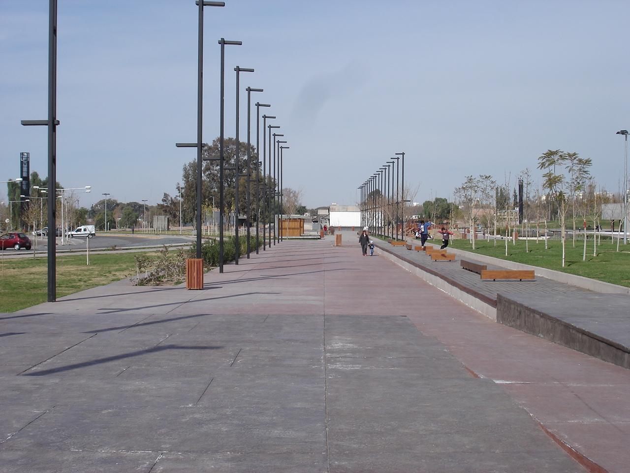 Parque central de Mendoza