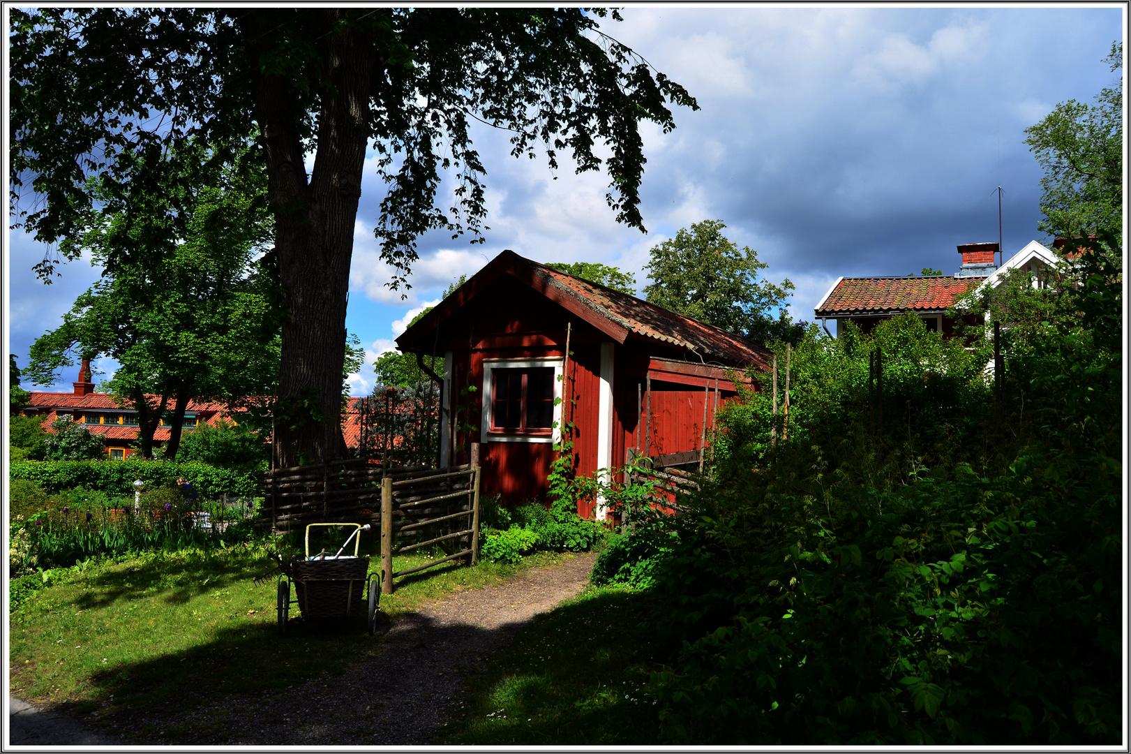 Parque de estocolmo Skansen