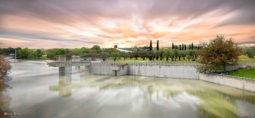 Parque Juan Carlos I. Madrid