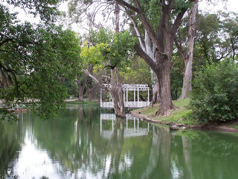 Parque Sarmiento, ciudad de Córdoba en Argentina