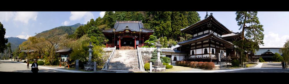 Part of Kuonji-Temple