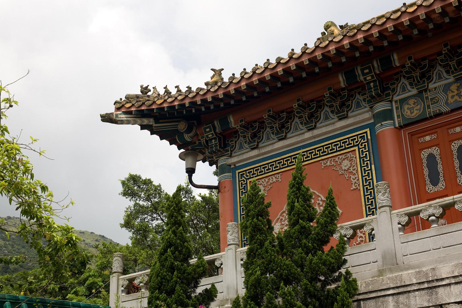 Part of Po Lin Monastery