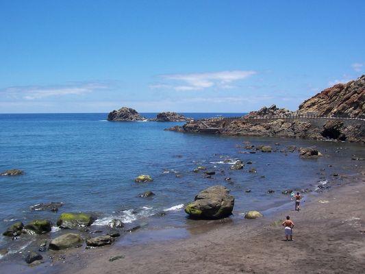 Parte De La Playa Del Roque