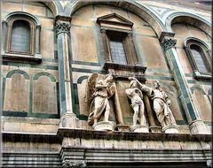 Particolare del Battistero di Firenze