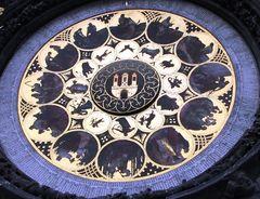 Particolare dell' Orloj, l'orologio Di Praga.