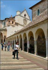 Particolare della Chiesa di San Francesco  a Assisi