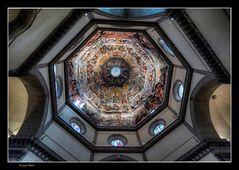 particolare della cupola del Brunelleschi