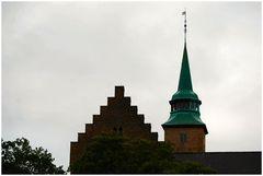 Particolare della Fortezza di Oslo.