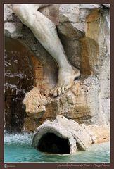 particolare Fontana dei Fiumi - Piazza Navona 02