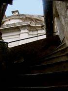Particolare scalinata S. Vito Romano