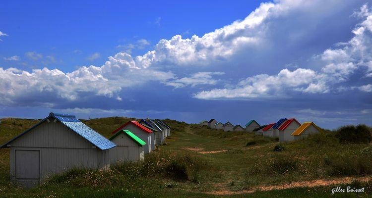 partie de monopoly dans les dunes