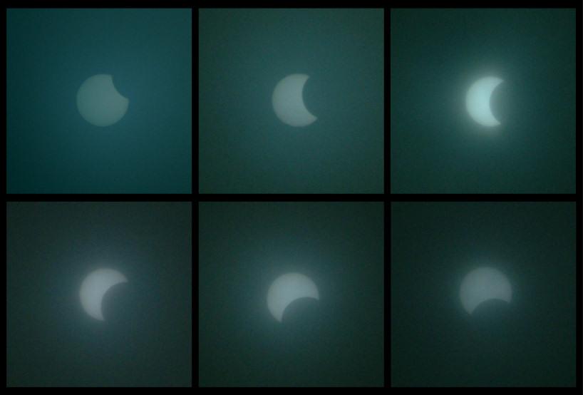 partielle Sonnenfinsternis 03.10.2005