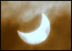 partielle Sonnenfinsternis 04.Januar.2011