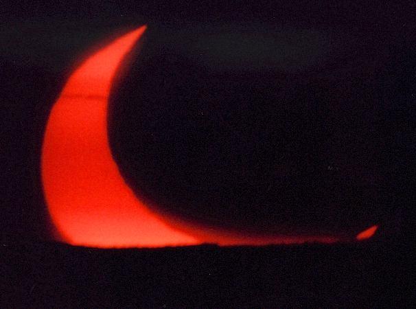 Partielle Sonnenfinsternis