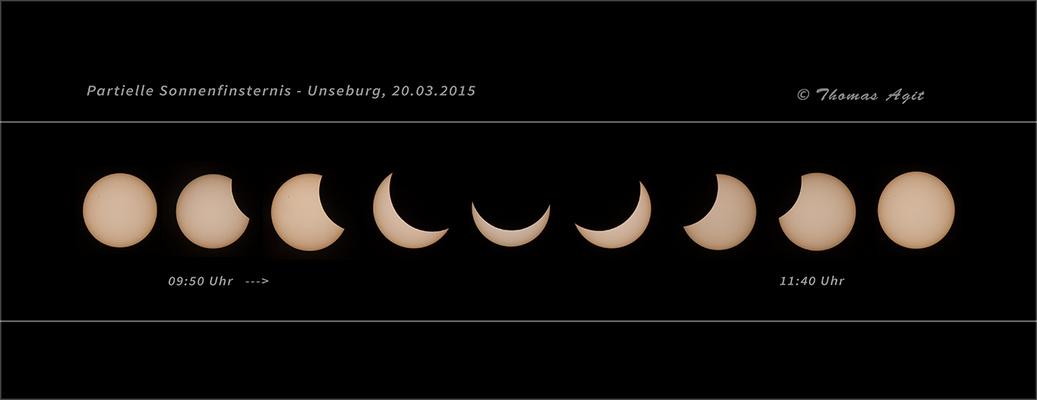 partielle Sonnenfinsternis 2015...