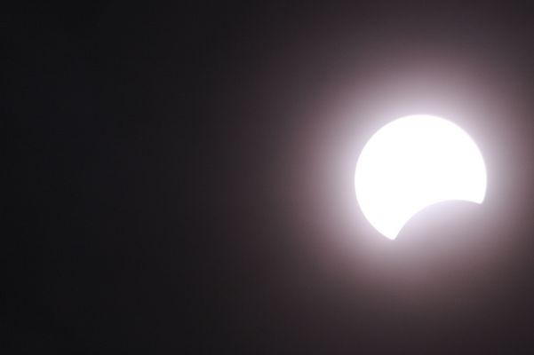 partielle Sonnenfinsternis 29.3.2006