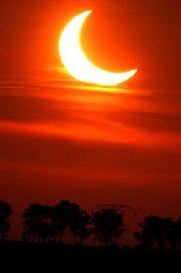 partielle Sonnenfinsterniss