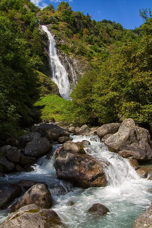 Partschinser Wasserfall / Südtirol