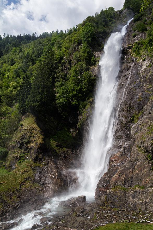 PARTSCHINSER WASSERFALL Südtirol