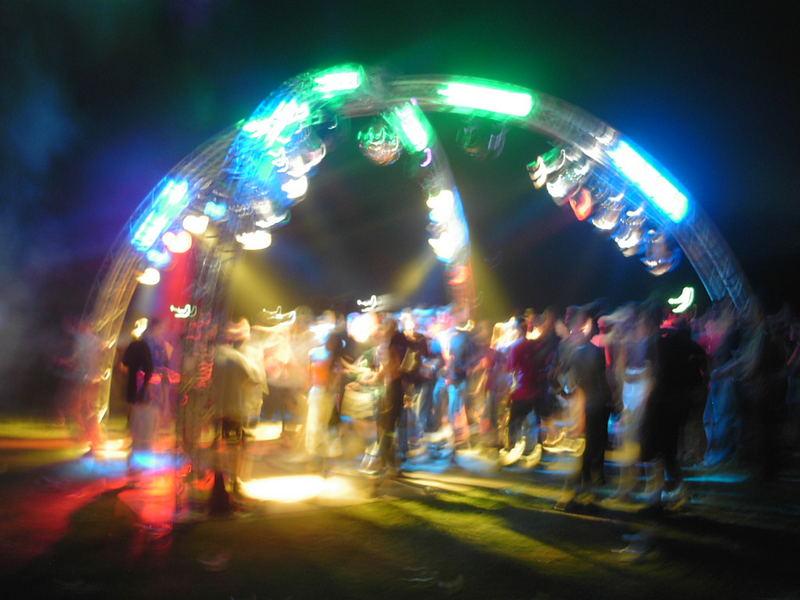 Party im Westfalenpark