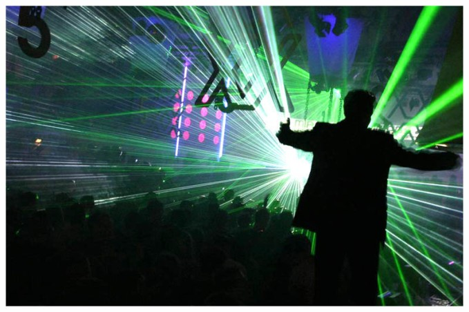 Party People Go Insane With Lasers