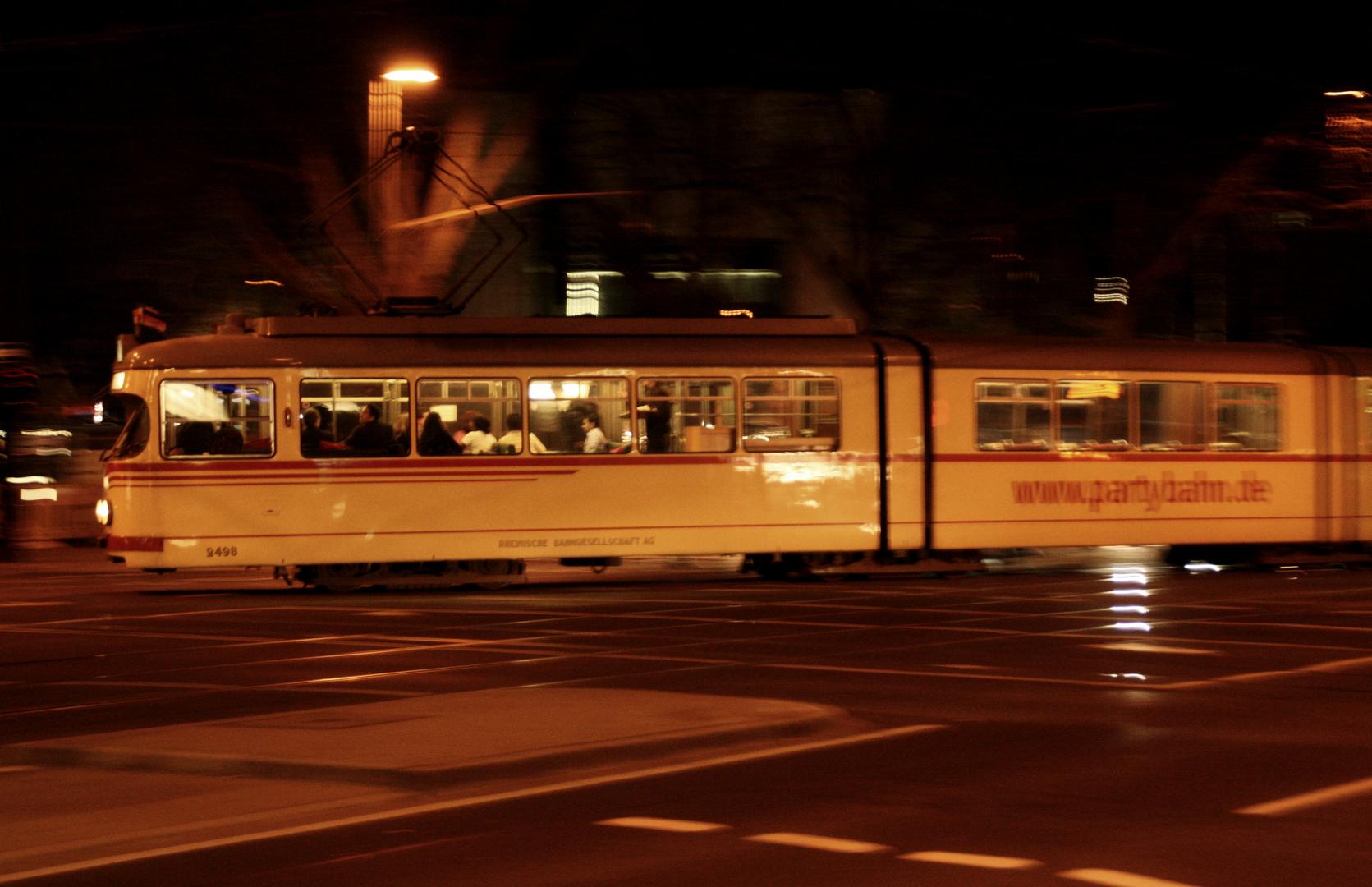 Partybahn in Düsseldorf