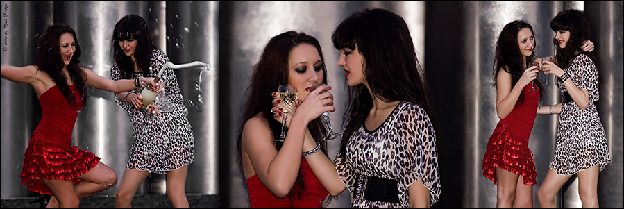Partygirls oder Freundinnen ...