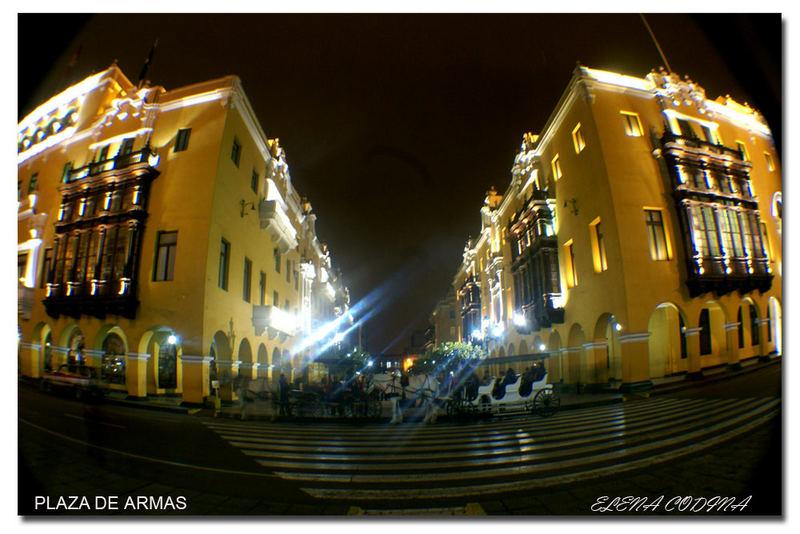 Pasaje de la Plaza de Armas de LIma
