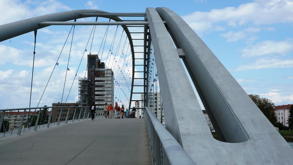 Pasarelle des Trois Pays (Dreiländerbrücke)