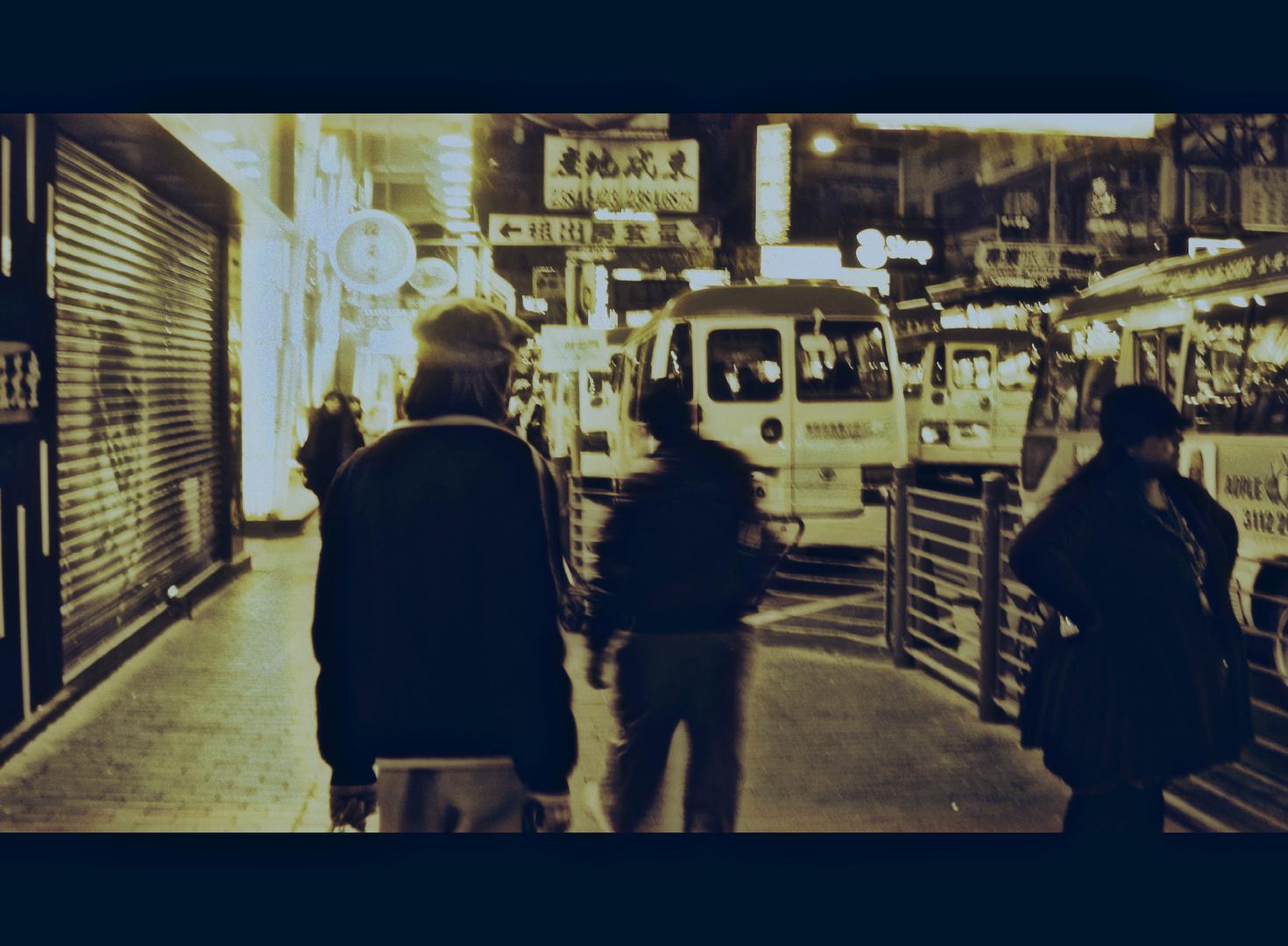 Paseando Hong-Kong