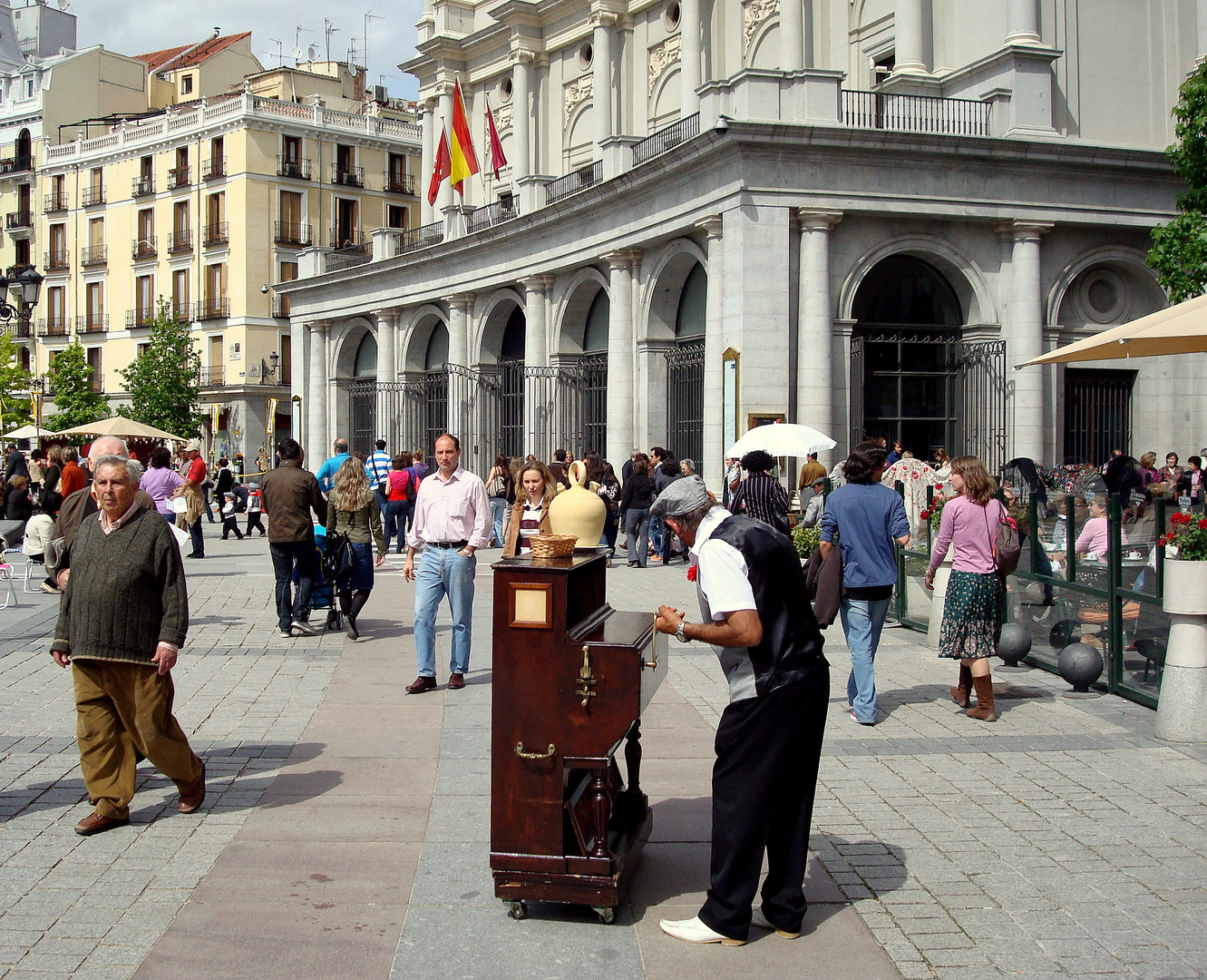 Paseando por Madrid el día de San Isidro