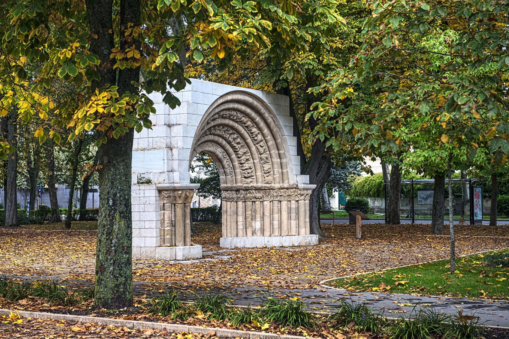 Paseo de otoño en Burgos