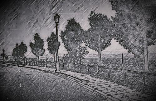 Paseo del Albaizin. Porcuna (Jaen)