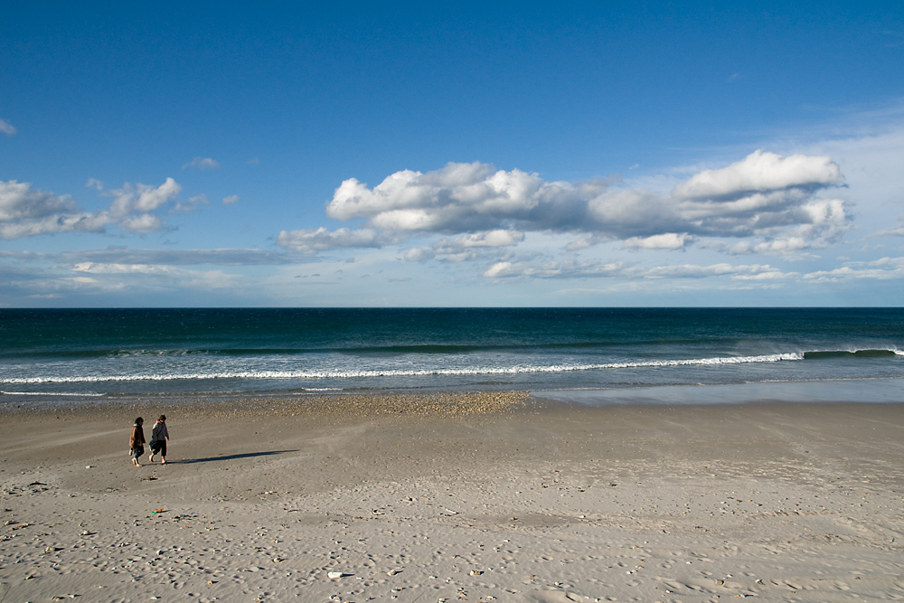 Paseo por la playa (II)