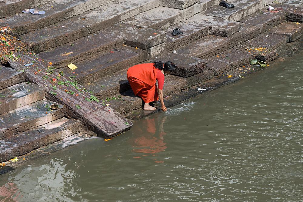 Pashupati: Fluß Bagmati