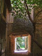 Passage couvert