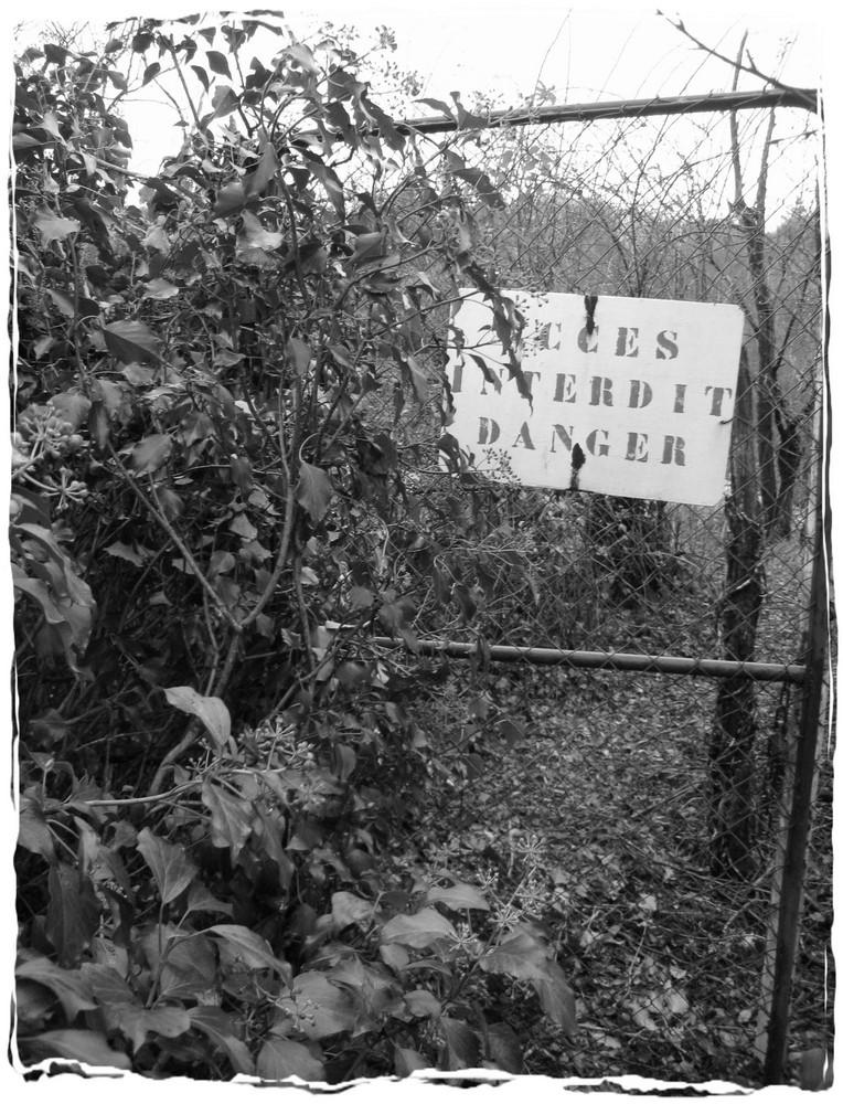 passage interdit...