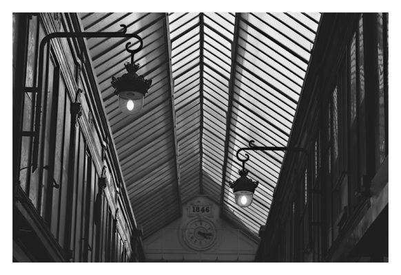 Passage Verdeau (2), Paris 2003