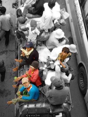 Passagers, Cambodge